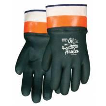 "Memphis Glove 6410 10"" Gauntlet Double-Dippvc Glove Jersey Line (1 PR)"