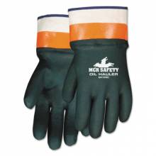 Memphis Glove 6410SC Oil Hauler Dark Greenpremium Double Dip Pvc (1 PR)