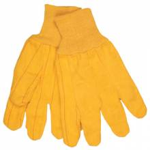 Memphis Glove 8526 16Oz. Gold Fleece Choregloves Knit Wrist (1 PR)