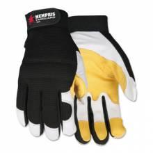 Memphis Glove 906XL X-Large Fasguard Glove White Grain Goatskin (12 PR)