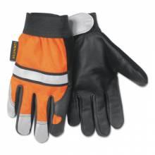 Memphis Glove 921XL X-Large Hi Vis Luminatorglove Grain Cowhide (12 PR)