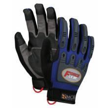Memphis Glove B100L Forceflex Dry Grip Tpr Protection- Hook/Loop L