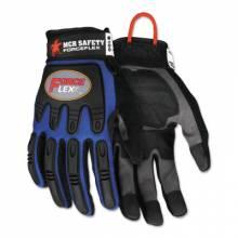 Memphis Glove B100XXL Forceflex Dry Grip Tpr Protection- Hook/Loop Xxl