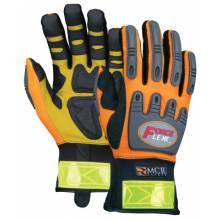 Memphis Glove HV100L Forceflex Hi-Vis Multitask W/Kevlar- Size L