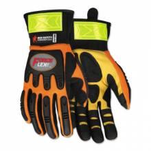 Memphis Glove HV100XXL Forceflex Hi-Vis Multitask W/Kevlar- Size Xxl (1 PR)