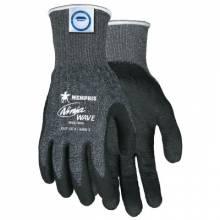 Memphis Glove N96780L Ninja Wave 13 Ga Blk/Whtspeckled Dyneema/Diamond