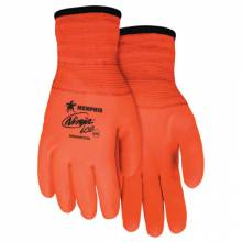 Memphis Glove N9690FCOXXL Ninja Ice Fully Coated 7Gauge Hivis Orange Acry (12 PR)