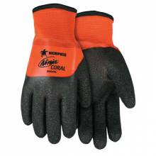 Memphis Glove N9695L Ninja Coral Insul Glovexl (12 PR)