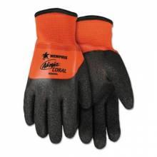 Memphis Glove N9695XXL Ninja Coral 15 Ga Hi Visor Nylong Exterior/Ga (12 PR)