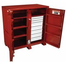 Jobox 1-679990 Jobox Steel 2 Door Drawer Cab. 60.13X30.25X60.75