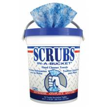 Scrubs 42272 Scrubs-In-A-Bucket Handcleaner 72-Count Pail (1 PA)