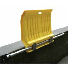 Eagle Mfg 1796 00225 Fixed Poly Dockplate For Hand Trucks