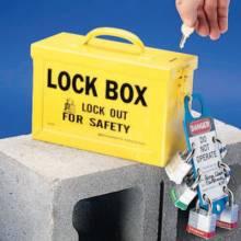 Brady 65672 Group Lock Box - Yellow