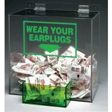 Brady PD439G Large Capacity Ear Plugdispenser  Clear Acrylic