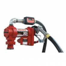 Fill-Rite FR4219G 12V Dc 20 Gpm Fuel Transfer Pump W/Hose