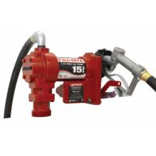 "Fill-Rite FR610G 115V Ac Pump  Steel Suction Pipe  3/4""X12' Hose"