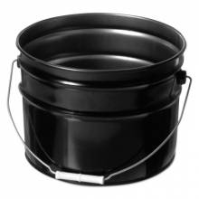 Freund 1175 3.5 Gal Stl Oh Pail Onlyunlined Blk