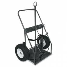 Milwaukee Hand Trucks 30759 Cylinder Truck W/Continuous Handle Eye Hook &Ban