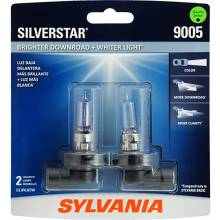 Sylvania 9005 SilverStar Headlight, Twin Pack