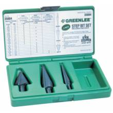 Greenlee 35884 Step Bit Kit 1-3-13