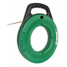 Greenlee FTFS439-100 Steel Fish Tape 100' 3/16 W/Plastic Case