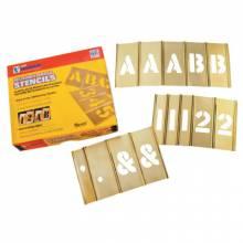 """C.H. Hanson 10151 92Pc 2"""" Letters & Numbers Stencil Set"""