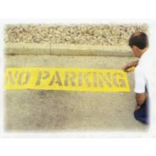 "C.H. Hanson 12430 No Parking - Parking Lotstencil 12"" Charact"