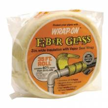 "Wrap-On 16506 W0J40 1/2""X6""X35' Fiberglass Insulation"