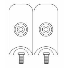 Tweco 9910-2102 Tw A-532-1P (2/Pk) Insulator9910-2102