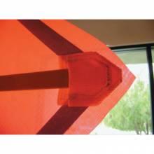 "Vizcon 24048-MEZ 48"" Mesh R/U Sign W/Sewncrnr Pckts-No Frame"