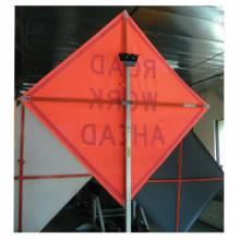 "Vizcon 26048-EV-HF-BPTS 48"" Non Refl Vnyl Sign W/Frame-Be Prpd To Stop"