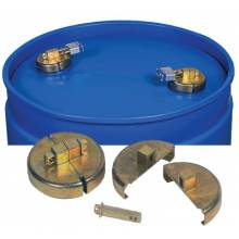 "Justrite 08509 Drum Locks For 55 Gallonpoly Drum 3/4"" Npt"