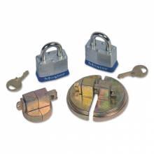 """Justrite 08510 Drum Locks F/ 55 Gal Steel Drum W/Locks 2"""" Npt"""