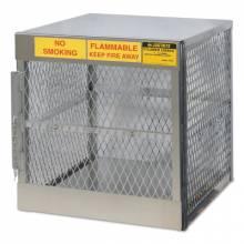 Justrite 23009 4 Cylinder Vertical Storage Locker