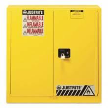Justrite 893300 30G Cab Man Yl Flam Safeex