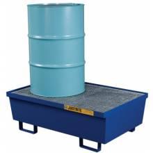 Justrite 28610 2 Drm Pallet Stl Blue
