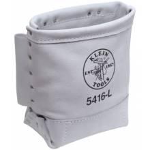 "Klein Tools 5416L Bolt Bag Leather 5""X9""X1"