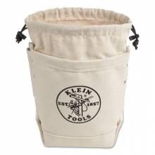 Klein Tools 5416TCP Bolt Bag-Canvas W/Closure/Pkt