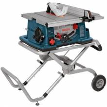 """BOSCH 4100-09 10"""" Worksite Table Saw w/ Gravity-Rise Stand"""