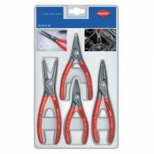 Knipex 00-2003SB 4-Pc Prec Circlip Snap Ring Plier Set