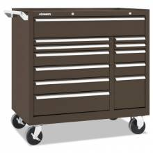 """Kennedy 10495B 41"""" 12-Drawer Double-Bank Ind Roller Cab"""