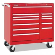"""Kennedy 10495R 41"""" 12-Drawer Double-Bank Ind Roller Cab"""