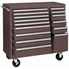 """Kennedy 315XB 39"""" 15-Drawer Industrialdouble-Bank Roller Cab."""