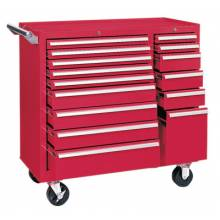 """Kennedy 315XR 39"""" 15-Drawer Industrialdouble-Bank Roller Cab."""