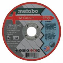 Metabo US616287000 6X1/16X7/8 Ca46U Type 1Slicer Cutting Wheel (25 EA)
