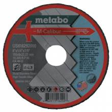 Metabo US616292000 6X1/4X7/8 Ca46U Type 27Dep. Cntr Wheel (10 EA)