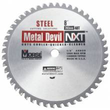 "M.K. Morse CSM848NSC Metal Cutting Circular Saw Blade; 8"" 48 Tooth"