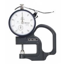 Mitutoyo 7301 Dial Thickness Gauge: 0-10Mm/.01Mm Grad.