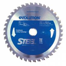 Evolution 185BLADE-ST 7-1/4 Bld For Stl 185Mmx 40T X 20Mm