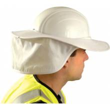 Occunomix 898-008 Hard Hat Shade- White